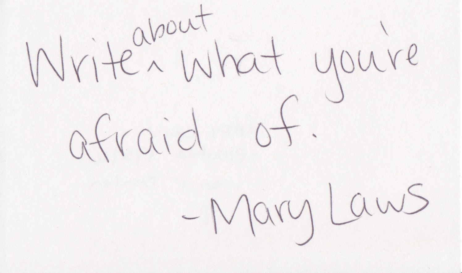 Mary Laws