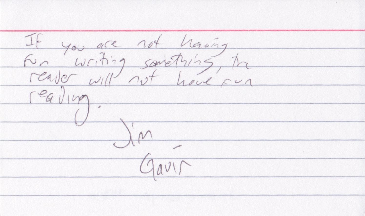 Jim Gavin
