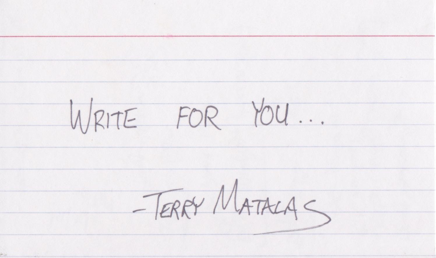 Terry Matalas